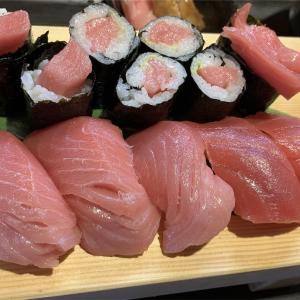 寿司屋まつい コスパ最高!美味しすぎるマグロにぎりランチ!!