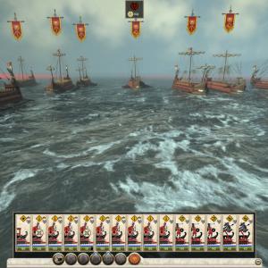 Total war rome2 part6 海戦