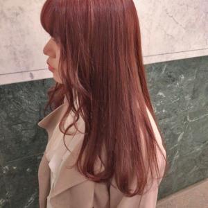 【ブリーチ1回】でピンクは可能「ブリーチ1回で入るピンクはこんな髪色」