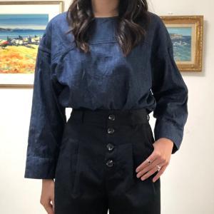 【GU UNIQLO】ユニクロで大幅値下げされていたデニムシャツ