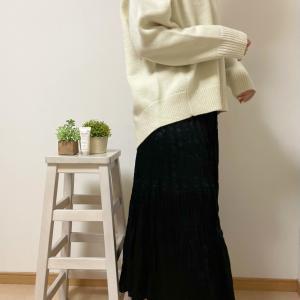 【UNIQLO】自分じゃ絶対に買わなかった ユニクロのプリーツスカート