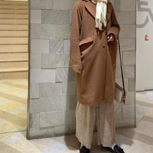 【SLY】沖縄のアウトレットで購入したブラウンコートが大活躍