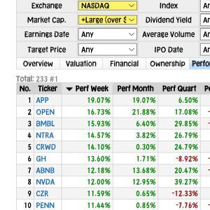 【NASDAQ+0.5%】最高値NASDAQ・ロビンフッド+9%◆年初元手160⇒203万円◆8月25日