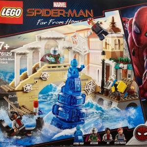 レゴ(LEGO) スーパー・ヒーローズ ハイドロマンの攻撃 を作ってみました その2