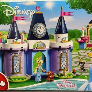 レゴ(LEGO) ディズニープリンセス シンデレラのお城 43178を作ってみました