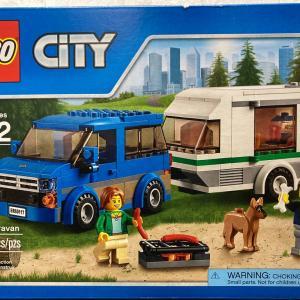 レゴ (LEGO) シティ キャンピングカー 60117を作ってみました その2