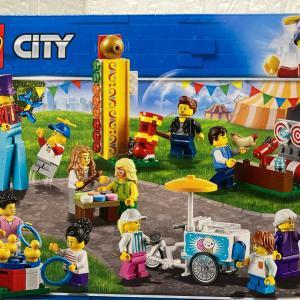レゴ(LEGO) シティ ミニフィグセット - 楽しいお祭り 60234を作ってみました