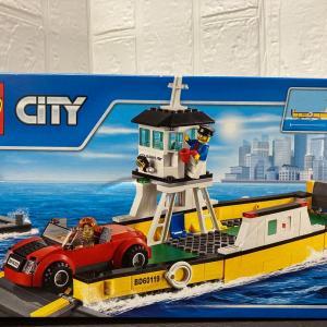 レゴ (LEGO) シティ フェリー 60119を作ってみました レビュー編