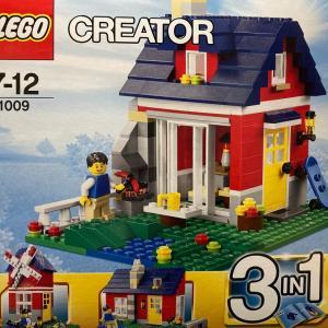 レゴ (LEGO) クリエイター・コテージ 31009を作ってみました その3