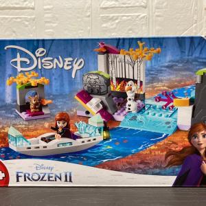"""レゴ(LEGO) アナと雪の女王2""""アナとオラフのリバートリップ 41165を作ってみました"""