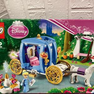 レゴ (LEGO) ディズニープリンセス シンデレラのまほうの馬車 41053を作ってみました