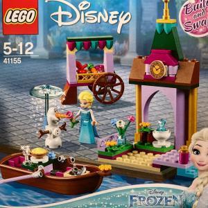"""レゴ(LEGO) アナと雪の女王""""アレンデールの市場"""" 41155を作ってみました"""