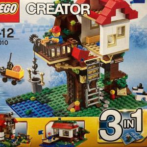 レゴ (LEGO) クリエイター・ツリーハウス 31010を作ってみました その1