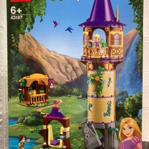 レゴ(LEGO) ディズニーラプンツェルの塔 43187を作ってみました その1