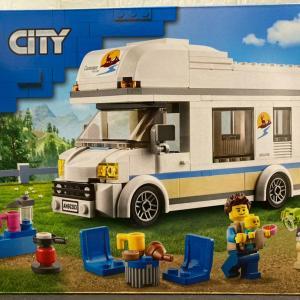 レゴ(LEGO) シティ ホリデーキャンピングカー 60283を作ってみました