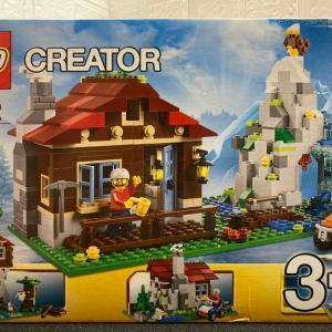レゴ(LEGO)クリエイター・マウンテンロッジ 31025を作ってみました その2