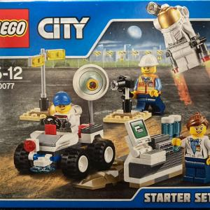 レゴ(LEGO) シティ 宇宙探検スタートセット 60077を作ってみました