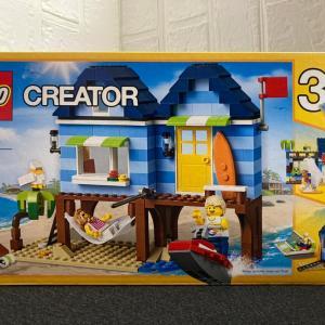 レゴ(LEGO) クリエイター ビーチサイド 31063を作ってみました その3