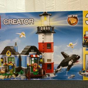 レゴ(LEGO) クリエイター 灯台 31051 を作ってみました その1
