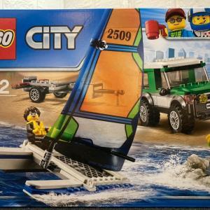 レゴ (LEGO) シティ ヨットと4WDキャリアー 60149を作ってみました