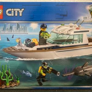 レゴ(LEGO) シティ ダイビングヨット 60221を作ってみました