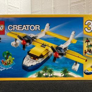 レゴ(LEGO)クリエイター 水上飛行機 31064を作ってみました その3