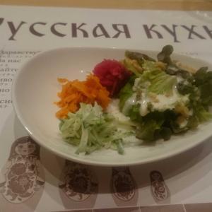 はじめてのロシア料理店