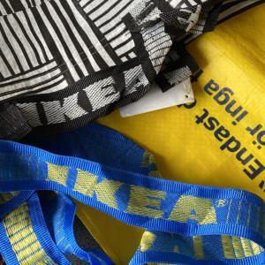 【IKEA】イケアのショッピングバッグ、ついつい集めちゃいます