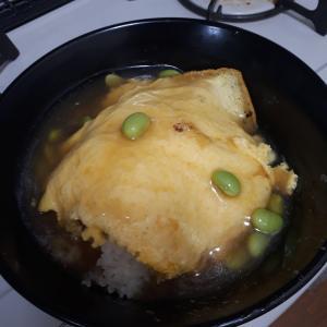 天津飯を作りました