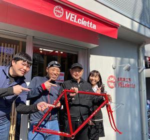VELcletta・News NO.13「サイクリンGOOD!」の取材でした