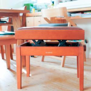 ピアノ椅子購入。ヴィンテージYAMAHA