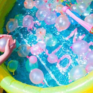 どろどろ水遊び子供は大好き