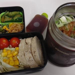 雑談:今日の麺弁当♡磯辺揚げ入り蕎麦の紹介