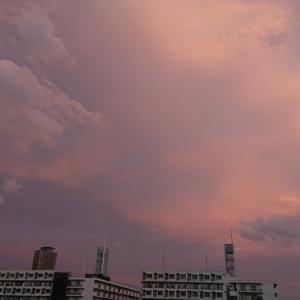 曇りのちところにより雨