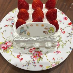 +5年生+ クリスマスケーキ作り