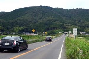筑波山の朝日トンネル
