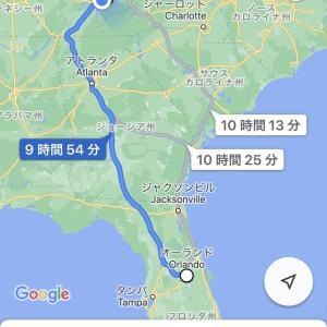 フロリダへの旅!2019年クリスマス休暇①〜移動日〜