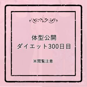 体型公開ダイエット300日目
