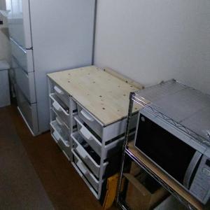【部屋公開】新しい冷蔵庫がやってきた