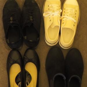 靴は全部で4足