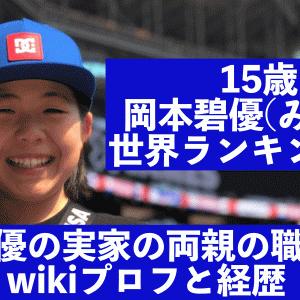 岡本碧優の実家の両親(父母)の職業や中学校は?wikiプロフと経歴