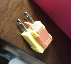 ラクラク抜ける電源アダプター