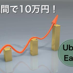Uber Eatsを始めて、初の1週間で10万円を超える!!