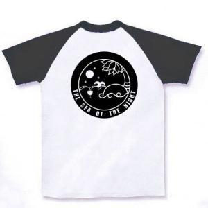 Tシャツ 「夜の海 black」