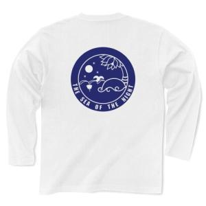 Tシャツ 「夜の海 navyblue」