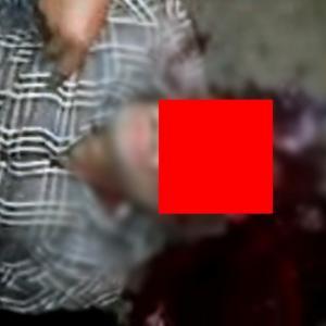 正面から額を撃ち抜かれた男の顔がトラウマレベルなんだが。。