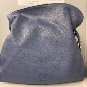最近お気に入りのブルーコーディネートとお気に入りのバッグ