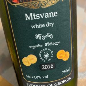 グルジアのワインとシャブリ