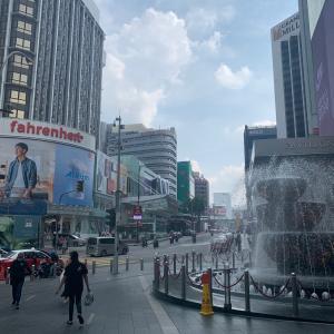 マレーシア眠らない街ブキットビンタン通りの注意事項