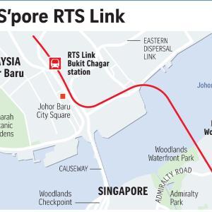 ニュース記事要約:マレーシアとシンガポールを結ぶ鉄道計画は多くの雇用を創出する(雑感:Bukit Chagar周辺の不動産が高騰する?)